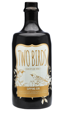 Two Birds Sipping Gin
